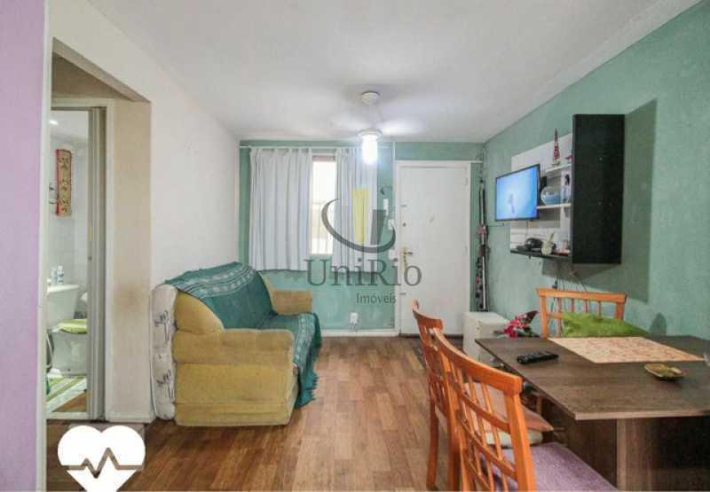012172742710920 - Apartamento 1 quarto à venda Taquara, Rio de Janeiro - R$ 155.000 - FRAP10113 - 1