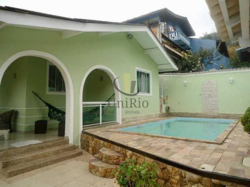 4558DDCD-C39A-4578-9006-3FFBF1 - Casa em Condomínio 3 quartos à venda Taquara, Rio de Janeiro - R$ 790.000 - FRCN30058 - 1