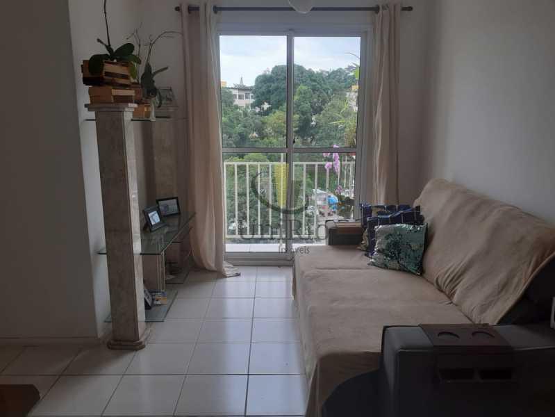 8829C43D-80F1-4B84-AAD7-FC0C3D - Apartamento 3 quartos à venda Curicica, Rio de Janeiro - R$ 305.000 - FRAP30280 - 1