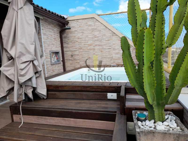 01 - Cobertura 3 quartos à venda Pechincha, Rio de Janeiro - R$ 590.000 - FRCO30047 - 1