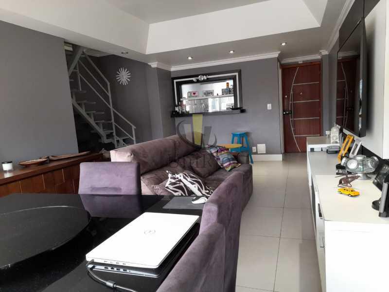 02 - Cobertura 3 quartos à venda Pechincha, Rio de Janeiro - R$ 590.000 - FRCO30047 - 3