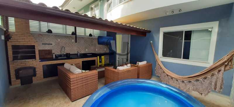 9ae69c67-afe7-4ce5-b7ff-ec3d54 - Casa em Condomínio 4 quartos à venda Jacarepaguá, Rio de Janeiro - R$ 799.000 - FRCN40024 - 1