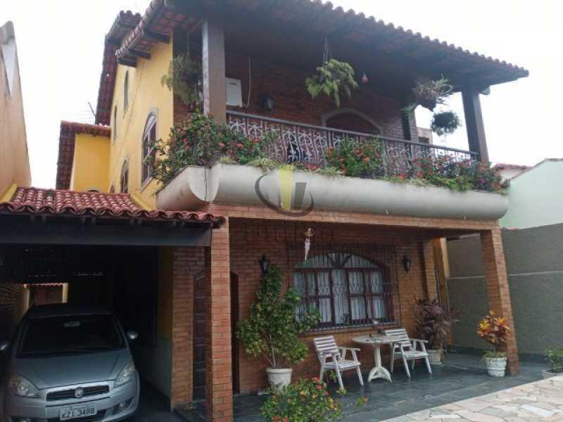 456144790335030 - Casa em Condomínio 5 quartos à venda Taquara, Rio de Janeiro - R$ 895.000 - FRCN50009 - 1