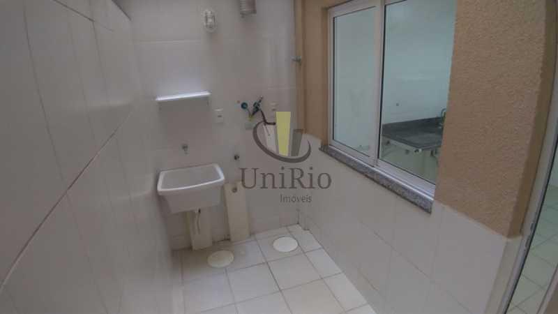 Area de servico - Casa em Condomínio 3 quartos à venda Tanque, Rio de Janeiro - R$ 473.000 - FRCN30065 - 6