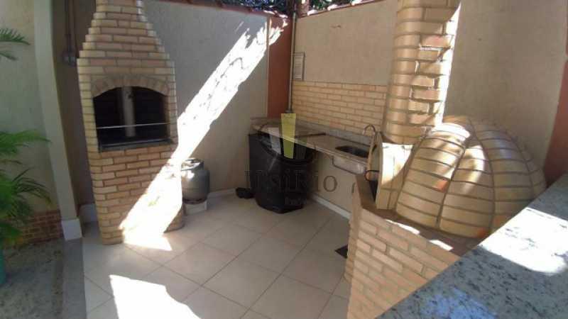 Churrasqueira 1 - Casa em Condomínio 3 quartos à venda Tanque, Rio de Janeiro - R$ 473.000 - FRCN30065 - 17