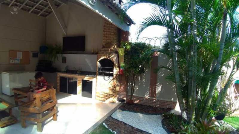 Churrasqueira - Casa em Condomínio 3 quartos à venda Tanque, Rio de Janeiro - R$ 473.000 - FRCN30065 - 16
