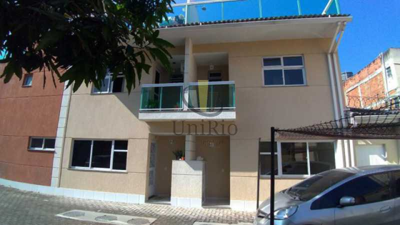Fachada - Casa em Condomínio 3 quartos à venda Tanque, Rio de Janeiro - R$ 473.000 - FRCN30065 - 15