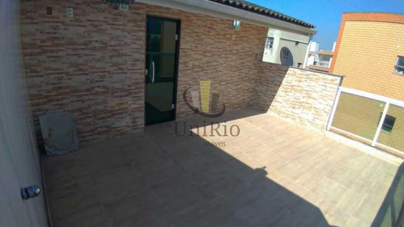 Terraco - Casa em Condomínio 3 quartos à venda Tanque, Rio de Janeiro - R$ 473.000 - FRCN30065 - 14