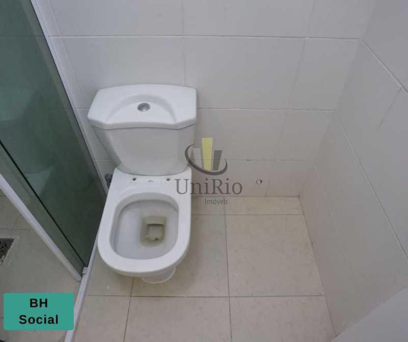 Banheiro social 1 - Apartamento 2 quartos à venda Tanque, Rio de Janeiro - R$ 205.000 - FRAP21010 - 7