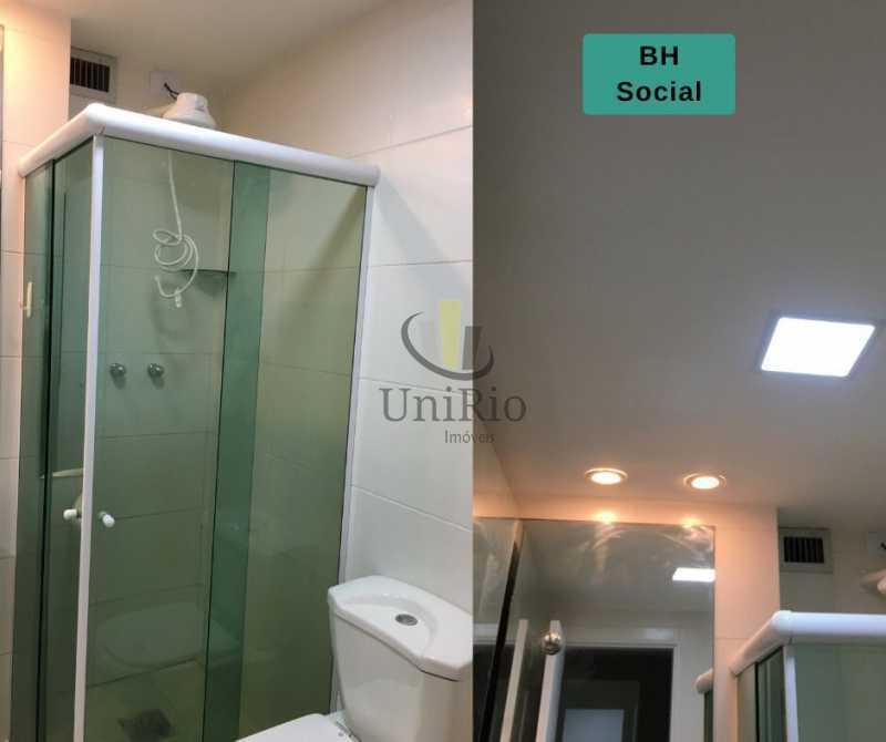 Banheiro social 2 - Apartamento 2 quartos à venda Tanque, Rio de Janeiro - R$ 205.000 - FRAP21010 - 8