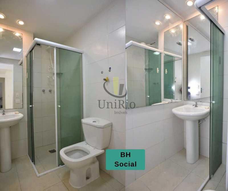 Banheiro social - Apartamento 2 quartos à venda Tanque, Rio de Janeiro - R$ 205.000 - FRAP21010 - 9