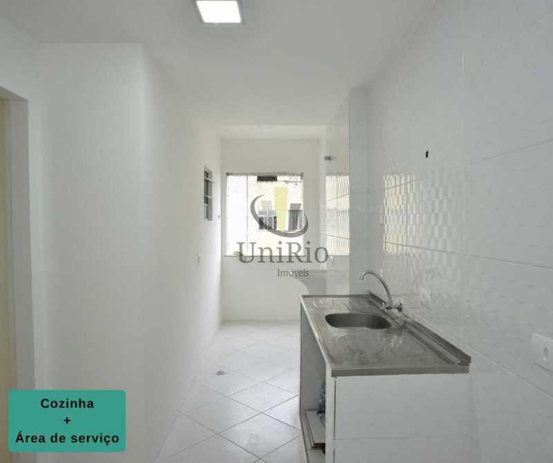 Cozinha e area - Apartamento 2 quartos à venda Tanque, Rio de Janeiro - R$ 205.000 - FRAP21010 - 5