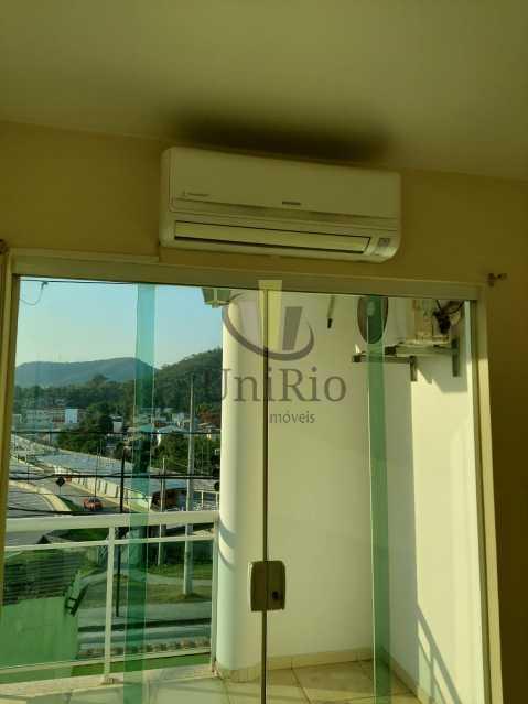 Ar - Casa em Condomínio 3 quartos à venda Taquara, Rio de Janeiro - R$ 650.000 - FRCN30067 - 15