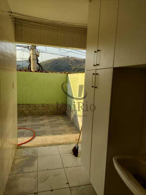 Area 1 - Casa em Condomínio 3 quartos à venda Taquara, Rio de Janeiro - R$ 650.000 - FRCN30067 - 12