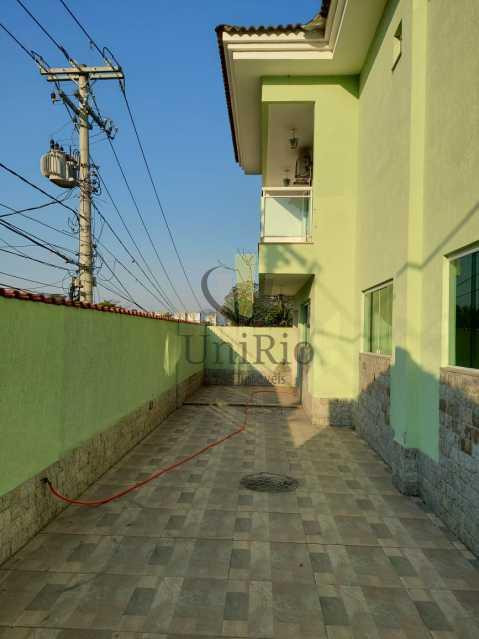 Area lateral - Casa em Condomínio 3 quartos à venda Taquara, Rio de Janeiro - R$ 650.000 - FRCN30067 - 24