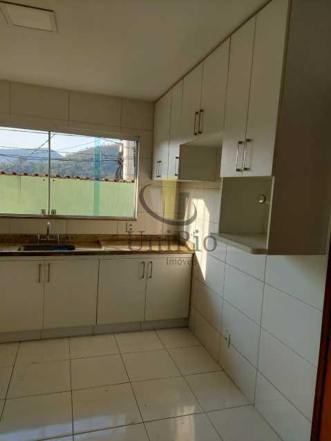 Cozinha - Casa em Condomínio 3 quartos à venda Taquara, Rio de Janeiro - R$ 650.000 - FRCN30067 - 9
