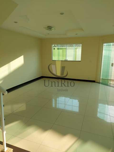 Sala1 - Casa em Condomínio 3 quartos à venda Taquara, Rio de Janeiro - R$ 650.000 - FRCN30067 - 3