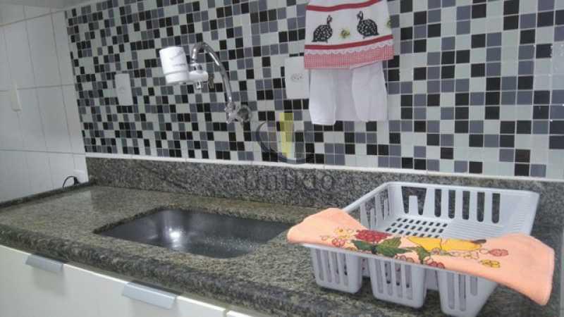 Bancada cozinha - Apartamento 2 quartos à venda Jacarepaguá, Rio de Janeiro - R$ 441.000 - FRAP21017 - 13