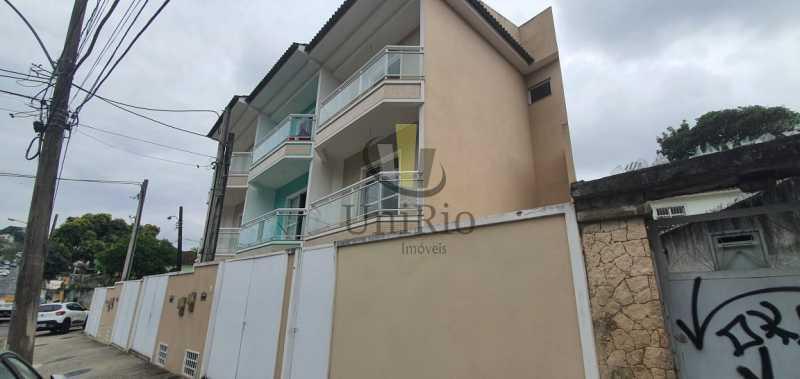 Fachada - Casa 3 quartos à venda Taquara, Rio de Janeiro - R$ 480.000 - FRCA30031 - 16