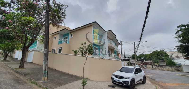 Lateral - Casa 3 quartos à venda Taquara, Rio de Janeiro - R$ 480.000 - FRCA30031 - 18