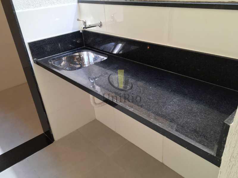 Bancada coz - Apartamento 3 quartos à venda Tanque, Rio de Janeiro - R$ 350.000 - FRAP30294 - 6