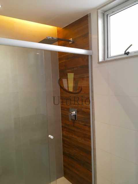 Banheiro - Apartamento 3 quartos à venda Tanque, Rio de Janeiro - R$ 350.000 - FRAP30294 - 12