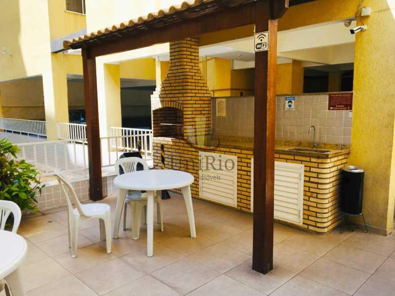 Churrasqueira - Apartamento 3 quartos à venda Tanque, Rio de Janeiro - R$ 350.000 - FRAP30294 - 18