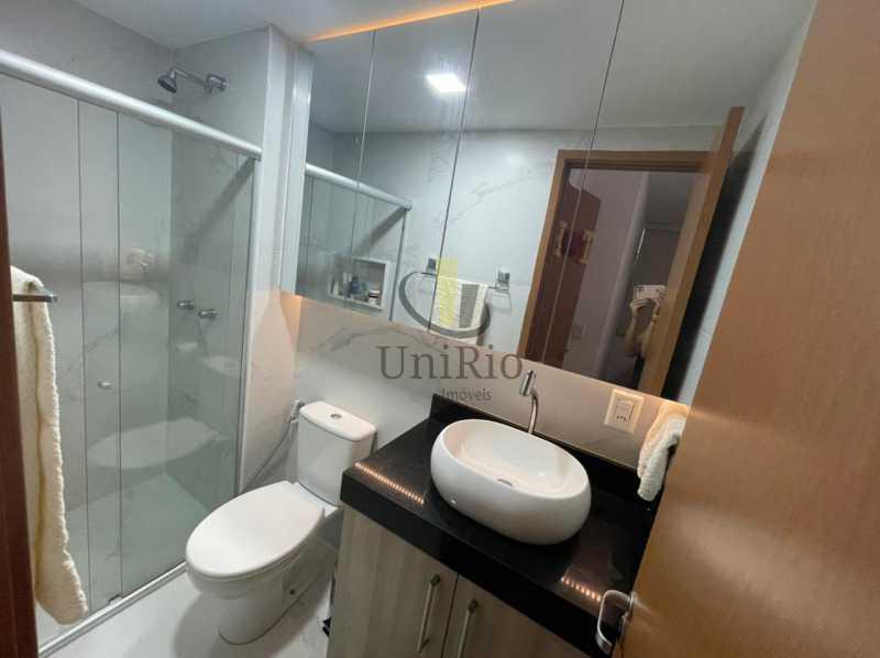 Banheiro - Cobertura 3 quartos à venda Taquara, Rio de Janeiro - R$ 579.000 - FRCO30050 - 11
