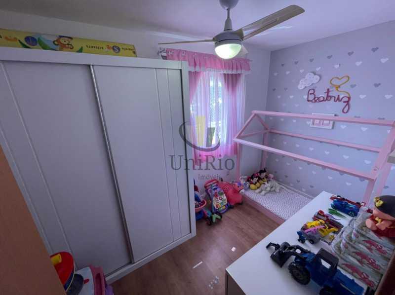 Quarto criança - Cobertura 3 quartos à venda Taquara, Rio de Janeiro - R$ 579.000 - FRCO30050 - 8