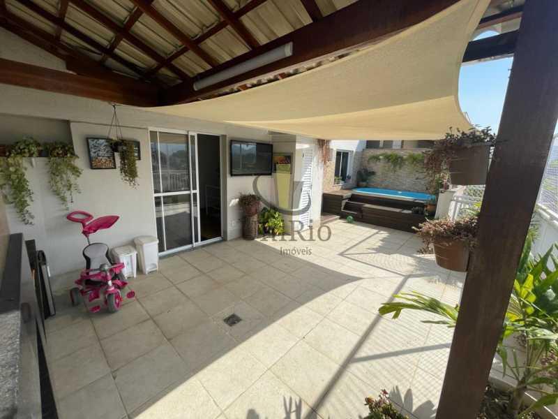 Varanda - Cobertura 3 quartos à venda Taquara, Rio de Janeiro - R$ 579.000 - FRCO30050 - 19