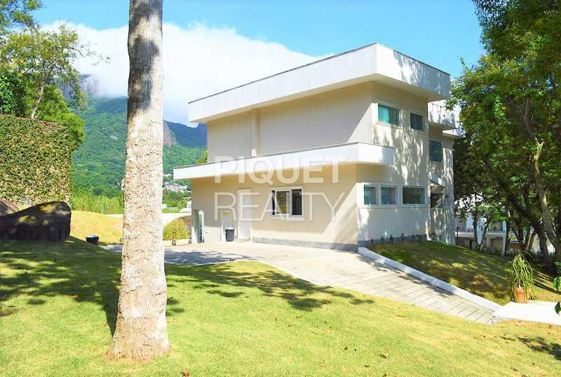 FACHADA - Casa em Condomínio 4 quartos à venda Rio de Janeiro,RJ - R$ 4.200.000 - 00100CA - 3