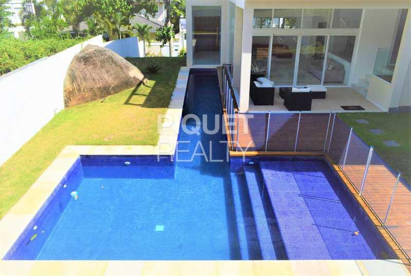 FACHADA FUNDOS - Casa em Condomínio 4 quartos à venda Rio de Janeiro,RJ - R$ 4.200.000 - 00100CA - 1