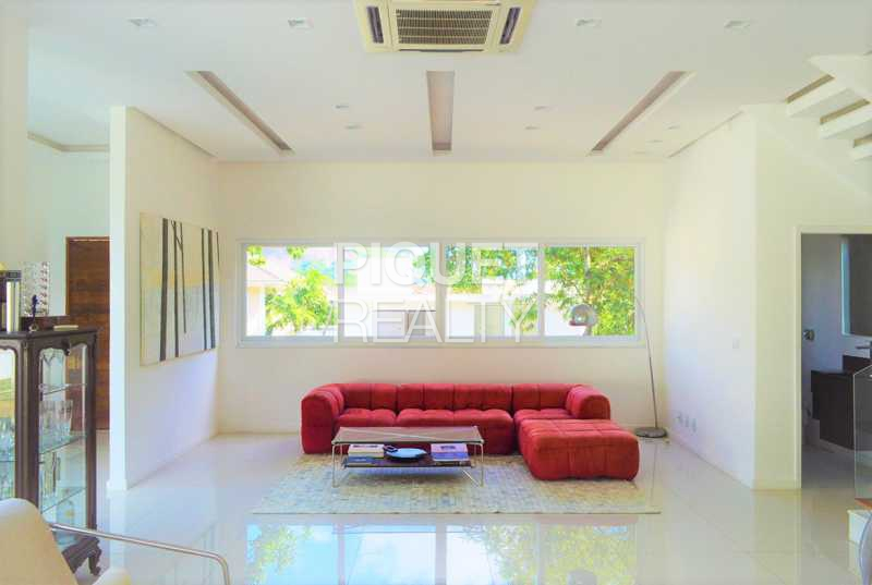 SALA - Casa em Condomínio 4 quartos à venda Rio de Janeiro,RJ - R$ 4.200.000 - 00100CA - 8