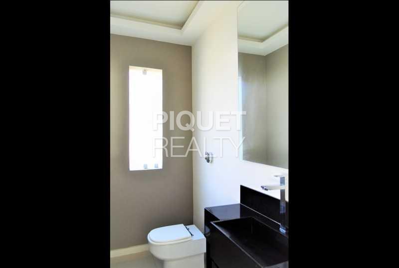 LAVABO - Casa em Condomínio 4 quartos à venda Rio de Janeiro,RJ - R$ 4.200.000 - 00100CA - 9