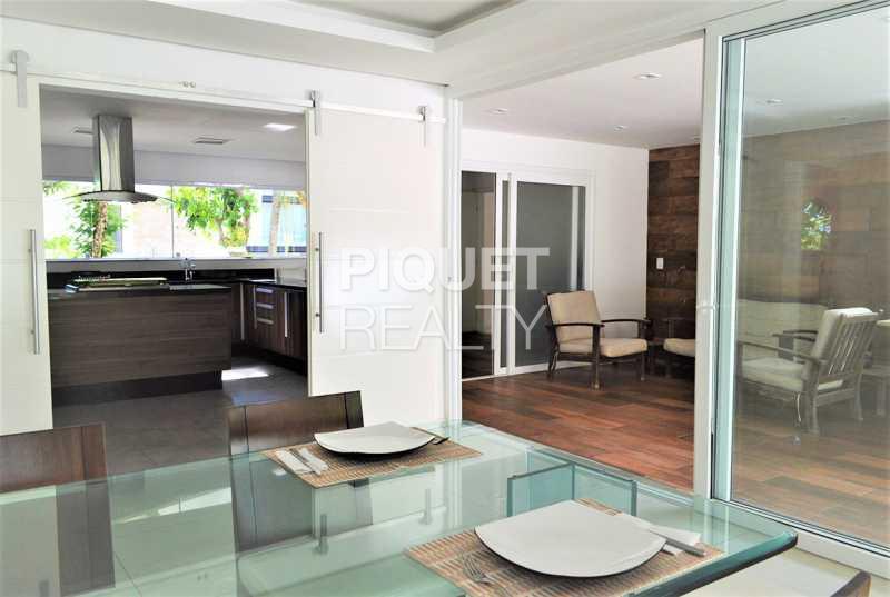 SALA DE JANTAR  - Casa em Condomínio 4 quartos à venda Rio de Janeiro,RJ - R$ 4.200.000 - 00100CA - 12