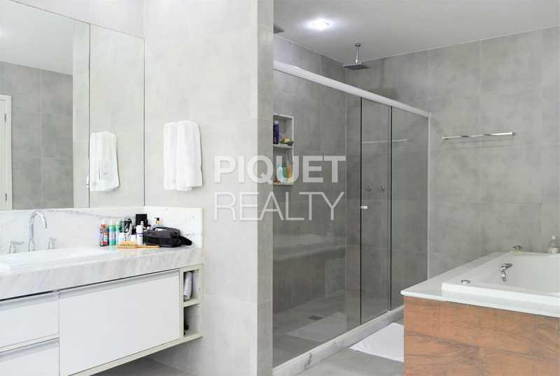 BANHEIRO - Casa em Condomínio 4 quartos à venda Rio de Janeiro,RJ - R$ 4.200.000 - 00100CA - 19