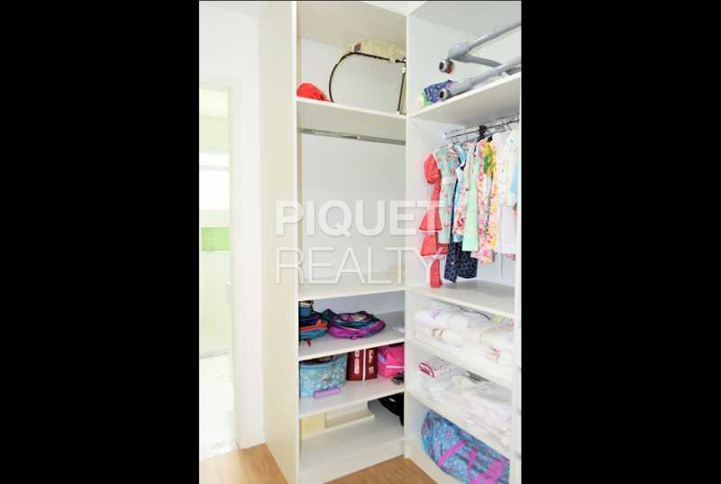CLOSET - Casa em Condomínio 4 quartos à venda Rio de Janeiro,RJ - R$ 4.200.000 - 00100CA - 21