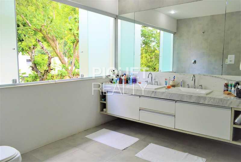 BANHEIRO - Casa em Condomínio 4 quartos à venda Rio de Janeiro,RJ - R$ 4.200.000 - 00100CA - 26