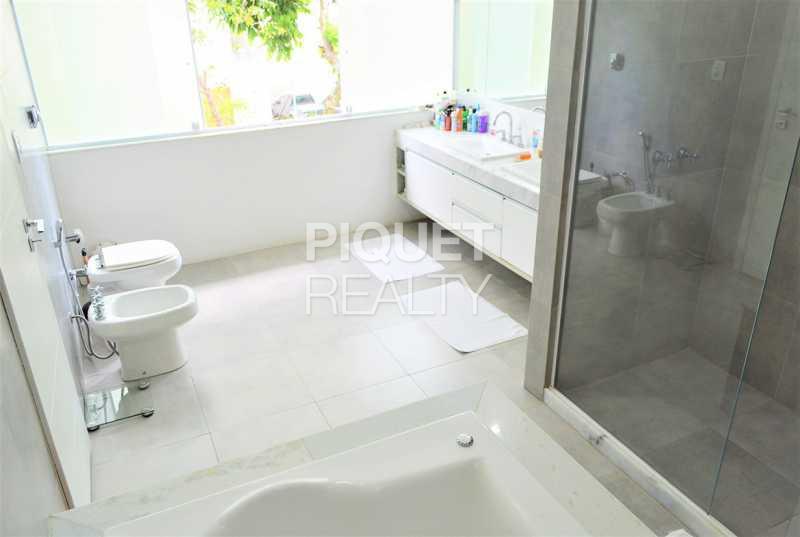 BANHEIRO - Casa em Condomínio 4 quartos à venda Rio de Janeiro,RJ - R$ 4.200.000 - 00100CA - 27