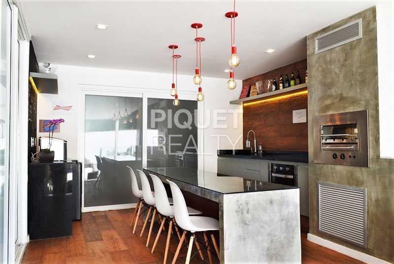 COZINHA - Casa em Condomínio 4 quartos à venda Rio de Janeiro,RJ - R$ 4.200.000 - 00100CA - 13