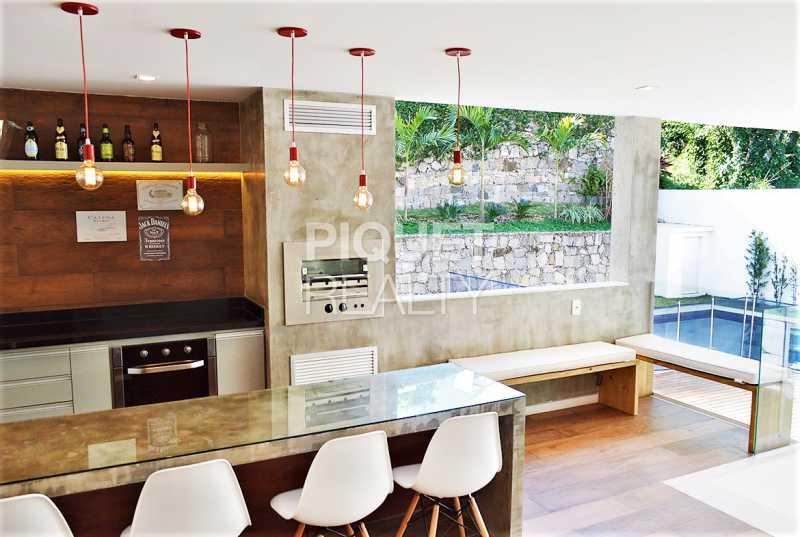 AREA GOURMET - Casa em Condomínio 4 quartos à venda Rio de Janeiro,RJ - R$ 4.200.000 - 00100CA - 30