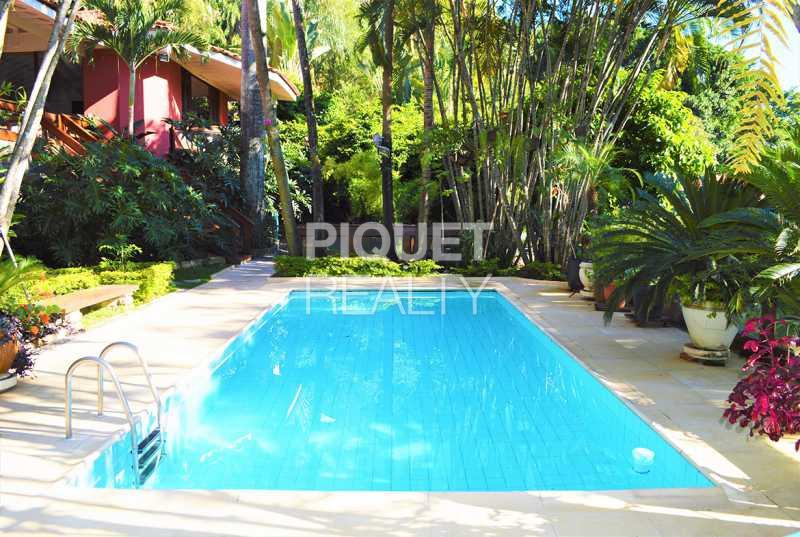 PISCINA - Casa em Condomínio 5 quartos à venda Rio de Janeiro,RJ - R$ 5.990.000 - 00072CA - 5