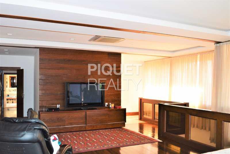 SUITE MASTER - Casa em Condomínio 5 quartos à venda Rio de Janeiro,RJ - R$ 5.990.000 - 00072CA - 10