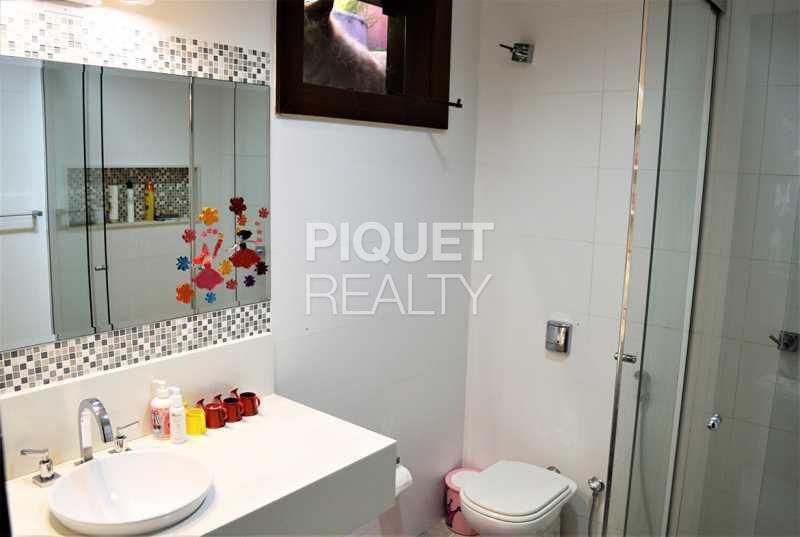 BANHEIRO SUITE - Casa em Condomínio 5 quartos à venda Rio de Janeiro,RJ - R$ 5.990.000 - 00072CA - 19