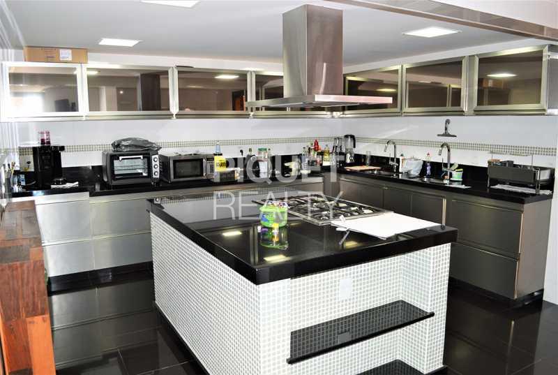 COZINHA COM ILHA - Casa em Condomínio 5 quartos à venda Rio de Janeiro,RJ - R$ 5.990.000 - 00072CA - 21