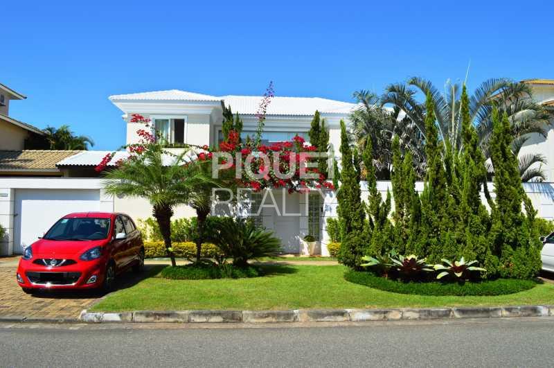 FACHADA - Casa em Condomínio 7 quartos à venda Rio de Janeiro,RJ - R$ 5.200.000 - 00001CA - 8