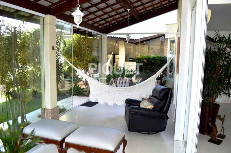 VARANDA - Casa em Condomínio 7 quartos à venda Rio de Janeiro,RJ - R$ 5.200.000 - 00001CA - 12
