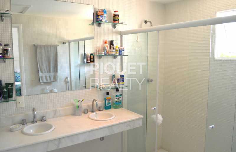 BANHEIRO  - Casa em Condomínio 7 quartos à venda Rio de Janeiro,RJ - R$ 5.200.000 - 00001CA - 25