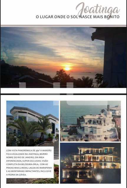 3. - Casa em Condomínio 4 quartos à venda Rio de Janeiro,RJ - R$ 32.500.000 - 01189CA - 4