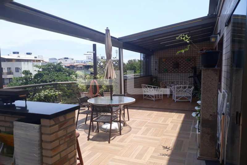 002 - Cobertura 3 quartos à venda Rio de Janeiro,RJ - R$ 950.000 - 01253CO - 3